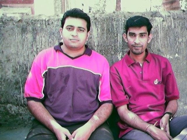 Suraj and Sridhar